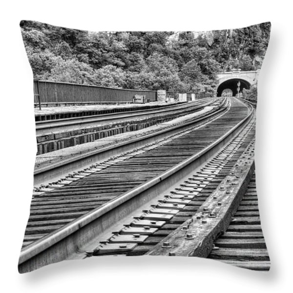 Around the Bend Throw Pillow by JC Findley