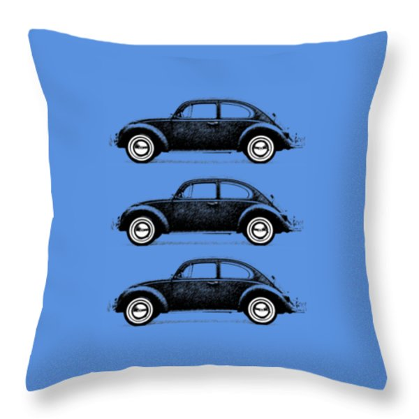 Think Small Throw Pillow by Mark Rogan