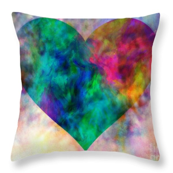Ascendance Of Love Throw Pillow by WBK