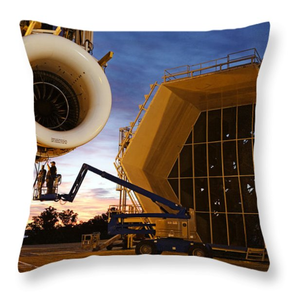 Assembling An Energy Efficient Jet Throw Pillow by Tyrone Turner