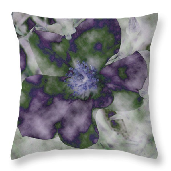 At Peace Throw Pillow by Bonnie Bruno