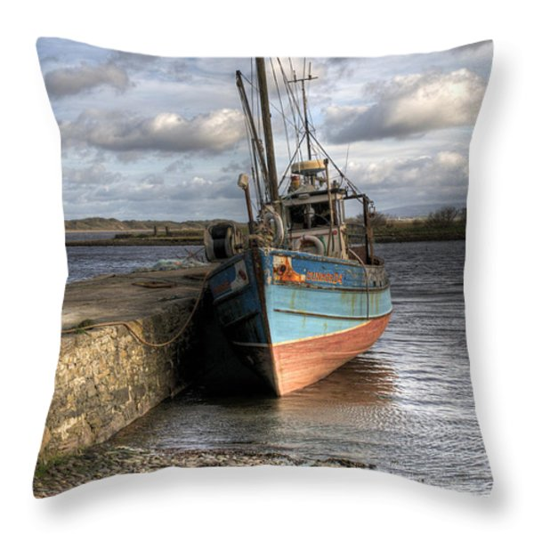 At rest Throw Pillow by Marion Galt