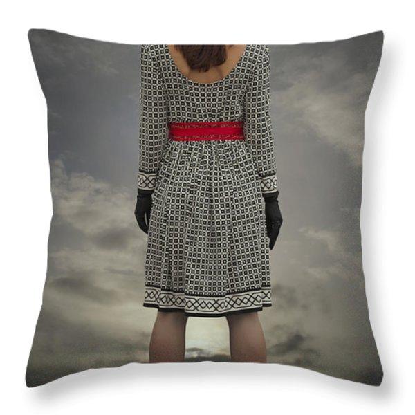 At The Edge Throw Pillow by Joana Kruse