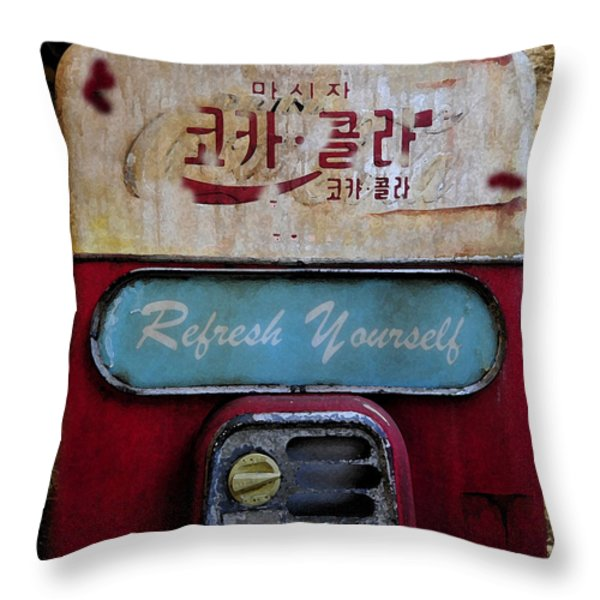 At The Ends Of The Earth Throw Pillow by David Lee Thompson