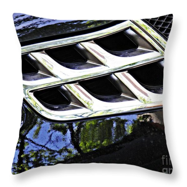 Auto Grill 16 Throw Pillow by Sarah Loft