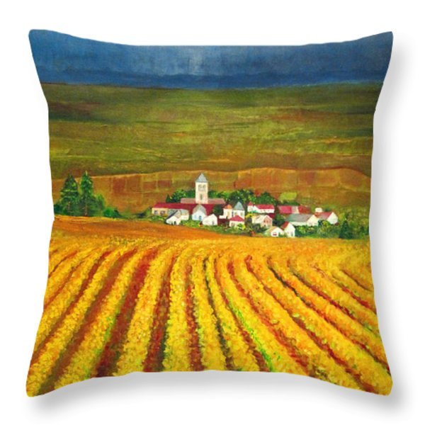 Autumn Harvest Throw Pillow by Michael Durst