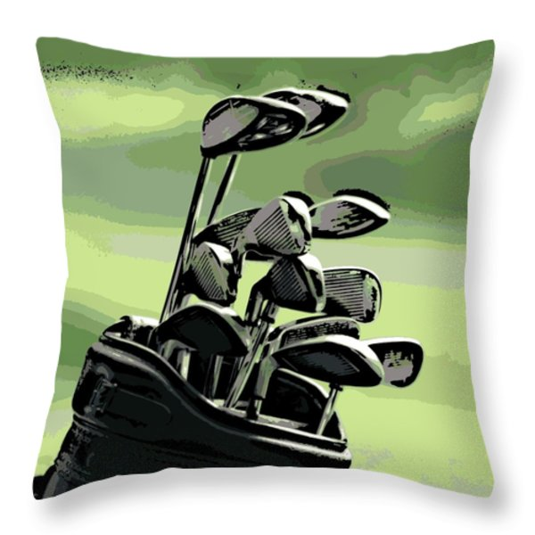 Awaiting Their Turn Throw Pillow by George Pedro