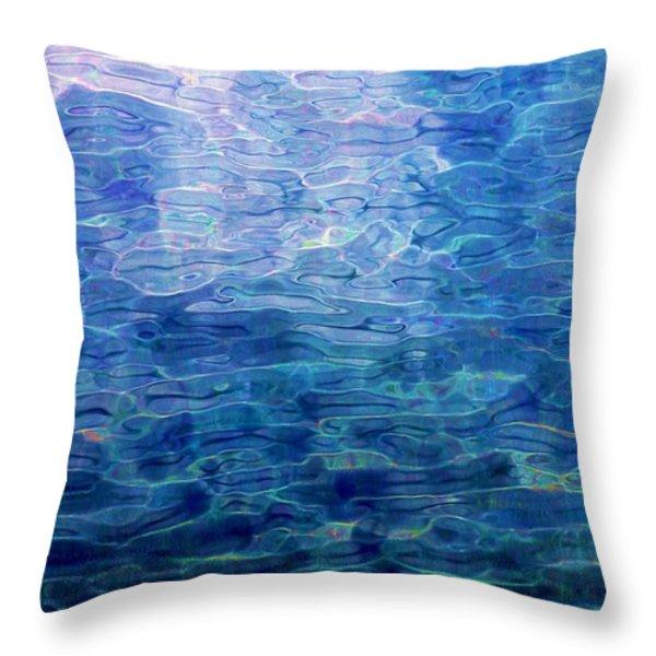 Awakening From The Depths Of Slumber Throw Pillow by David Lane