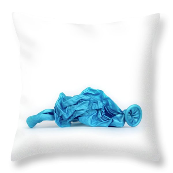 Balloons Throw Pillow by BERNARD JAUBERT