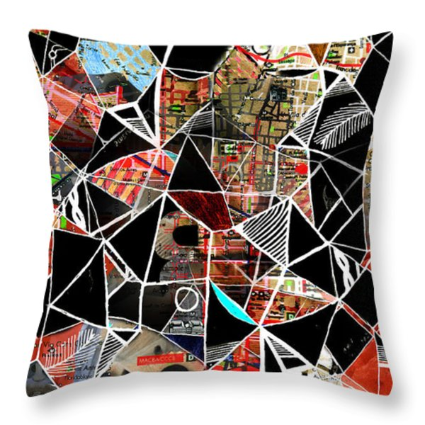 Barcelona Throw Pillow by Andy  Mercer