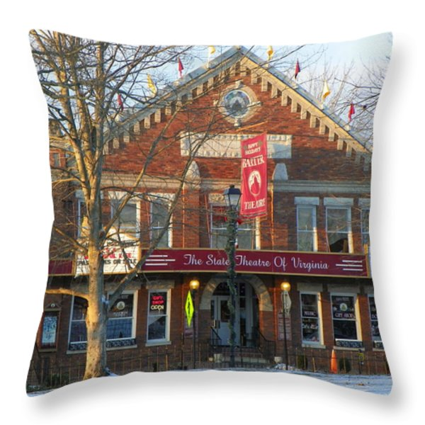 Barter Theatre Throw Pillow by KAREN WILES
