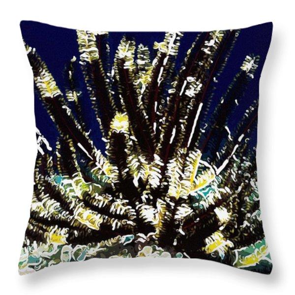 Beautiful marine plants 10 Throw Pillow by Lanjee Chee