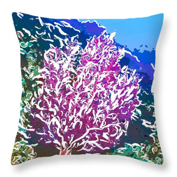 Beautiful Sea fan coral 2 Throw Pillow by Lanjee Chee