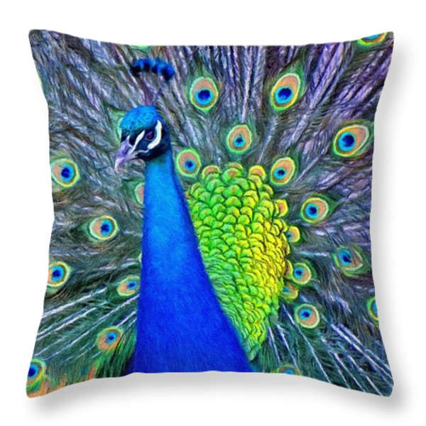 Beauty Whatever The Name Throw Pillow by Jeff Kolker