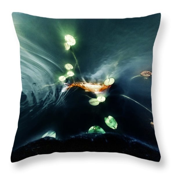 Becoming Throw Pillow by John  Poon