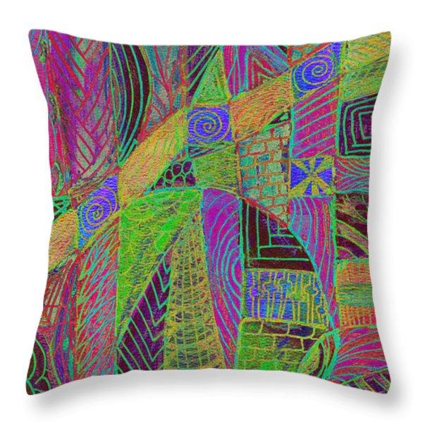 Bedazzled Throw Pillow by Wayne Potrafka