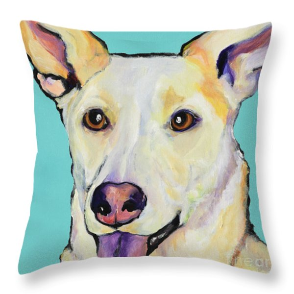 BELLA Throw Pillow by Pat Saunders-White