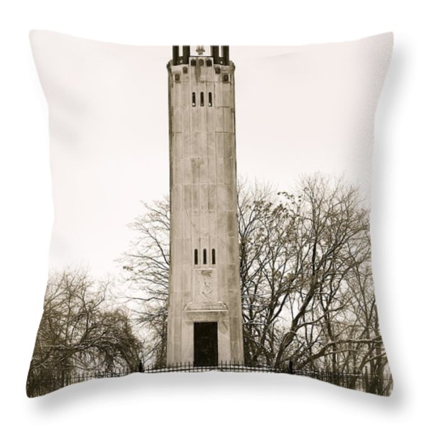 Belle Ilse Light  Throw Pillow by Michael Peychich