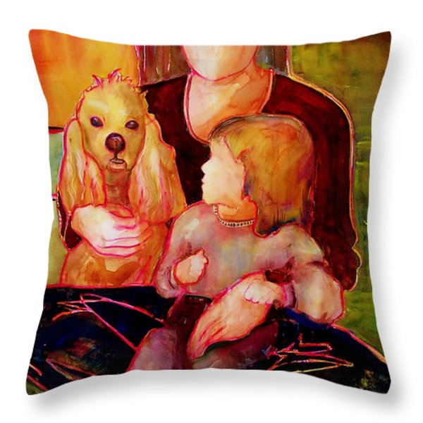 Beloved Throw Pillow by Blenda Studio
