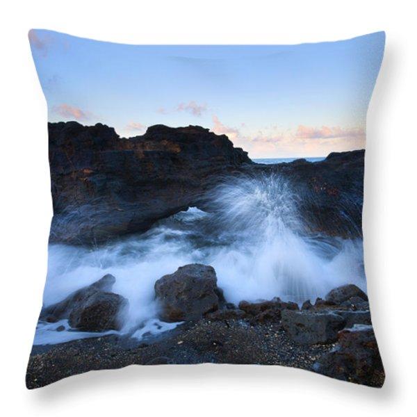 Beneath The Arch Throw Pillow by Mike  Dawson