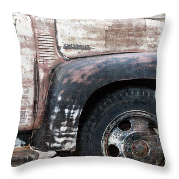 Better Days Throw Pillow by Betty LaRue