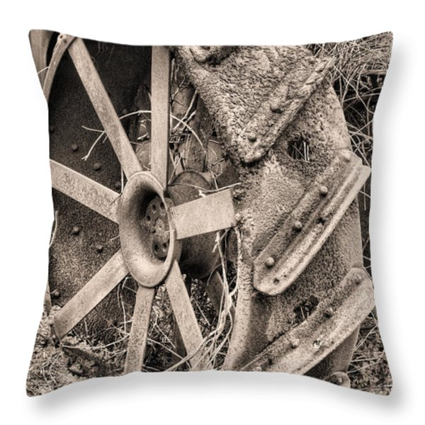 Big Iron II Throw Pillow by JC Findley