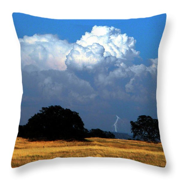 Billowing Thunderhead Throw Pillow by Frank Wilson