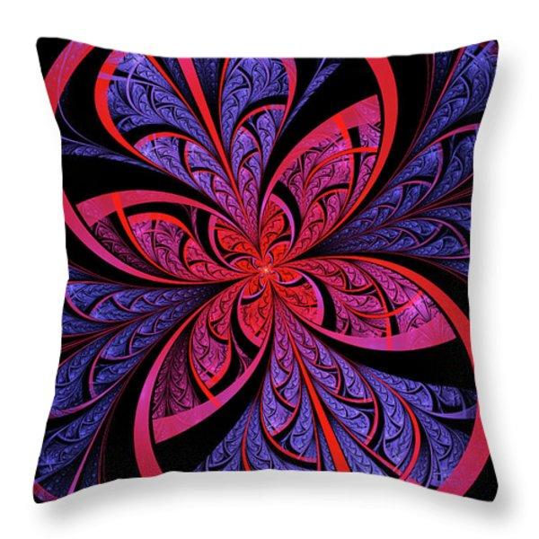 Bipolar Throw Pillow by John Edwards