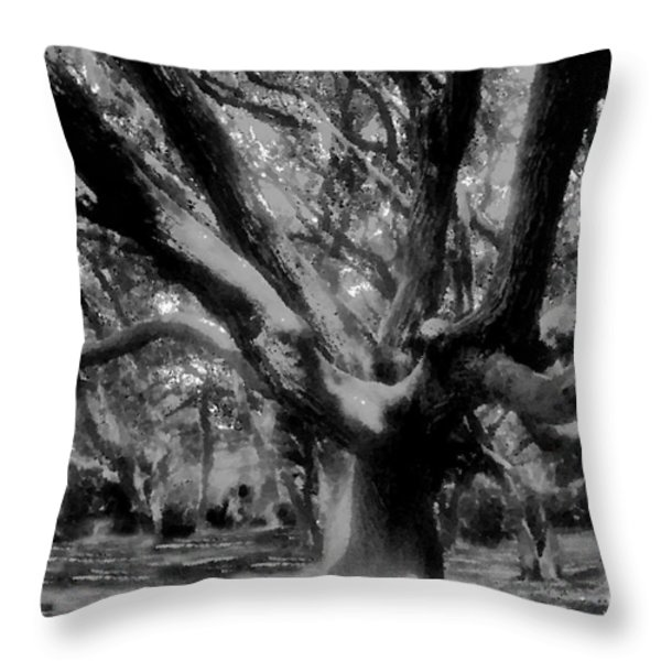 Black Forest Throw Pillow by David Lee Thompson