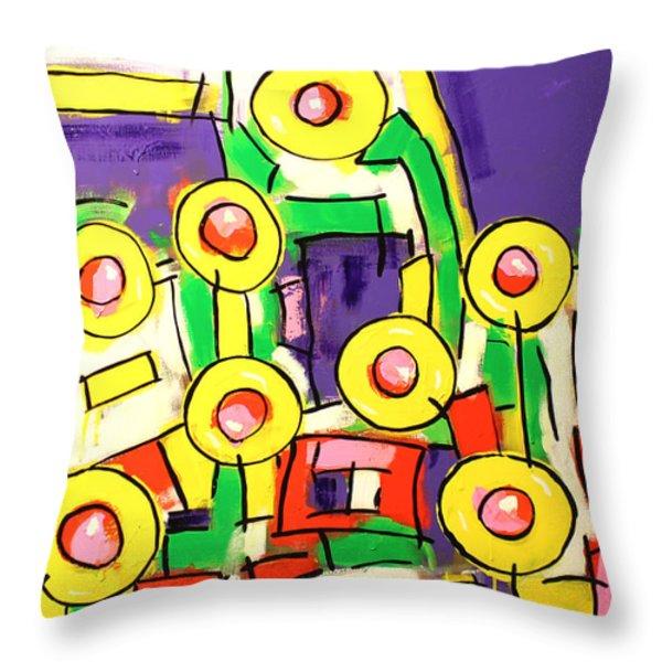 Blame It On The Bossa Nova Throw Pillow by Tim Ross
