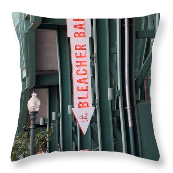 Bleacher Bar Throw Pillow by Greg DeBeck