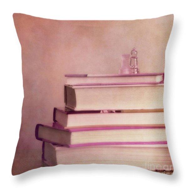 brain stuff Throw Pillow by Priska Wettstein