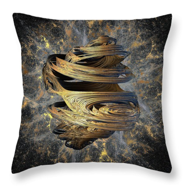Breaking Free Throw Pillow by Michael Durst