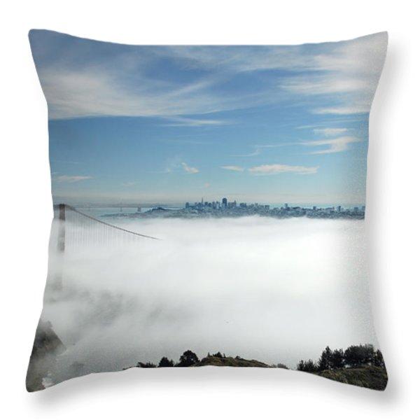 Brigadoon Throw Pillow by Donna Blackhall