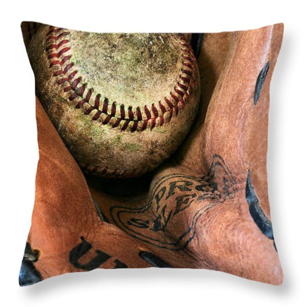 Broken In Throw Pillow by JC Findley