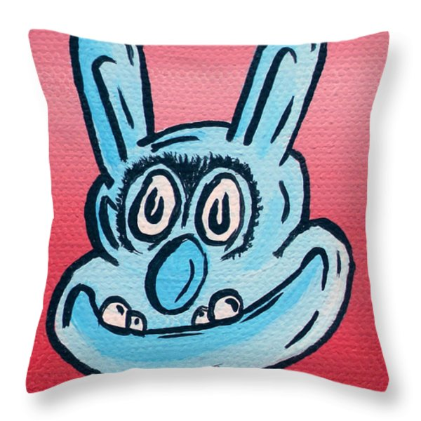 Buster Throw Pillow by Jera Sky