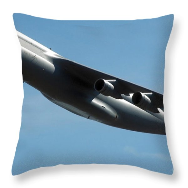 C-5 Galaxy Throw Pillow by Stocktrek Images