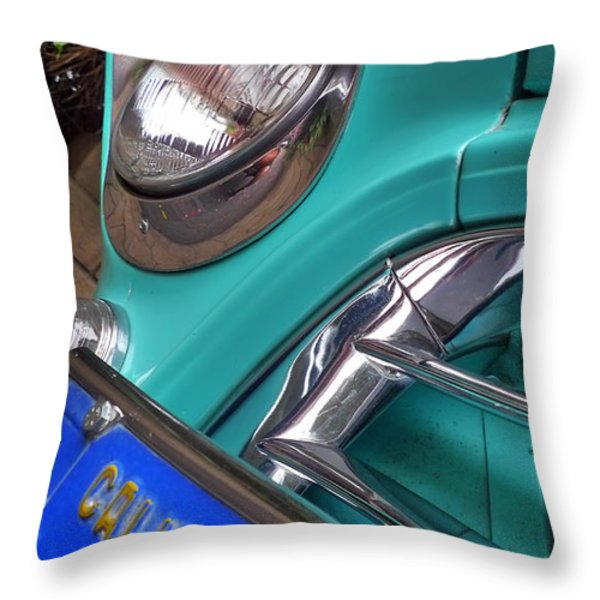 California Throw Pillow by Skip Hunt