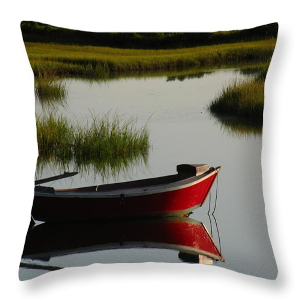 Cape Cod Photography Throw Pillow by Juergen Roth