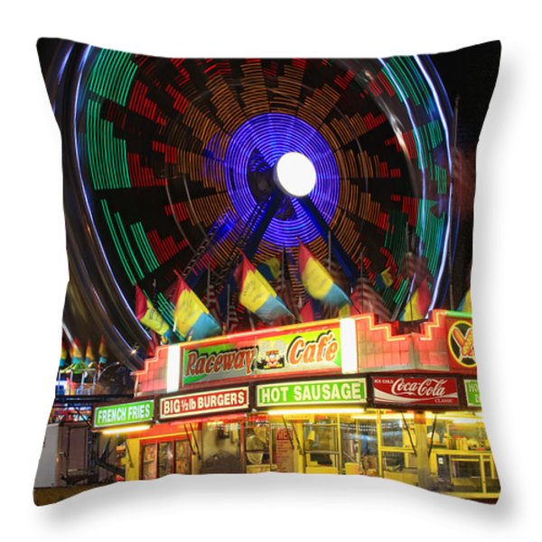Carnival Throw Pillow by James BO  Insogna