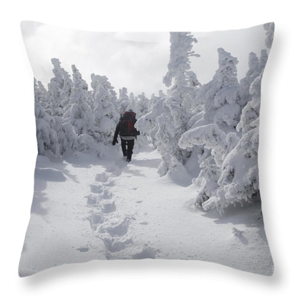 Carter Dome - White Mountains New Hampshire Throw Pillow by Erin Paul Donovan
