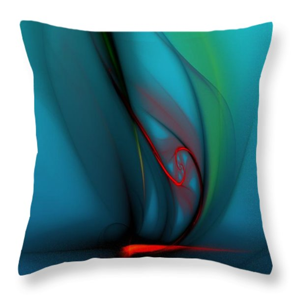 Catch The Wind Throw Pillow by David Lane