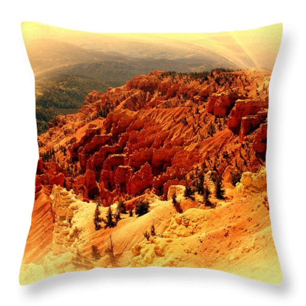 Cedar Breaks 2 Throw Pillow by Marty Koch