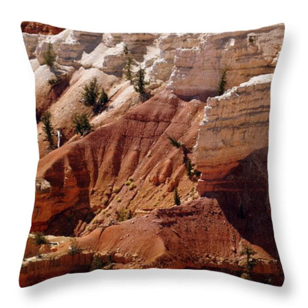 Cedar Breaks 5 Throw Pillow by Marty Koch