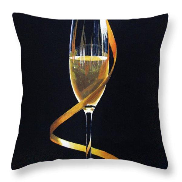 Celebrations Throw Pillow by Kayleigh Semeniuk