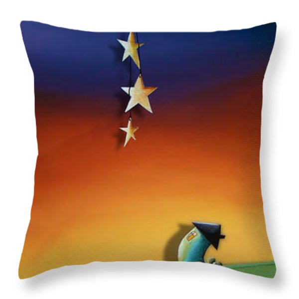 Charming Throw Pillow by Cindy Thornton