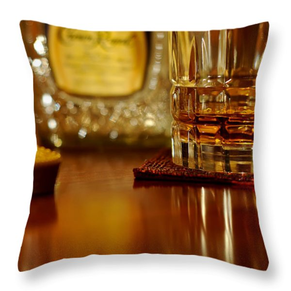 Cheers Throw Pillow by Lois Bryan