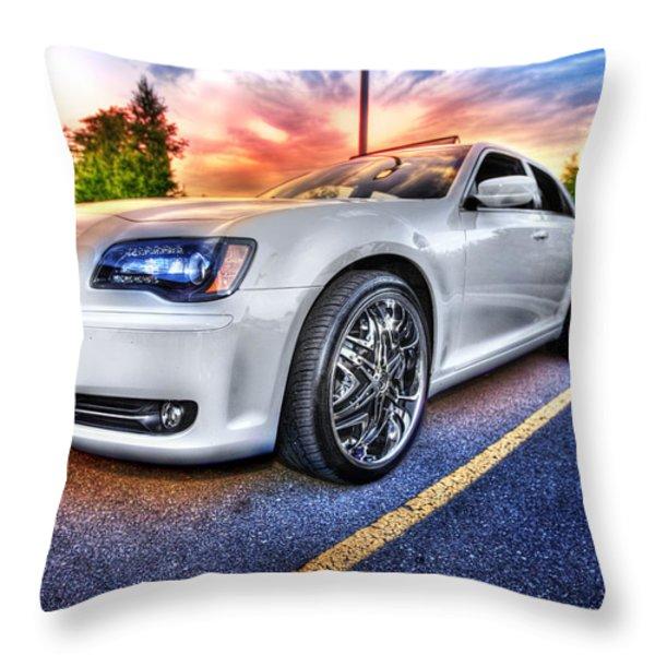 Chrysler 300 Throw Pillow by Nicholas  Grunas