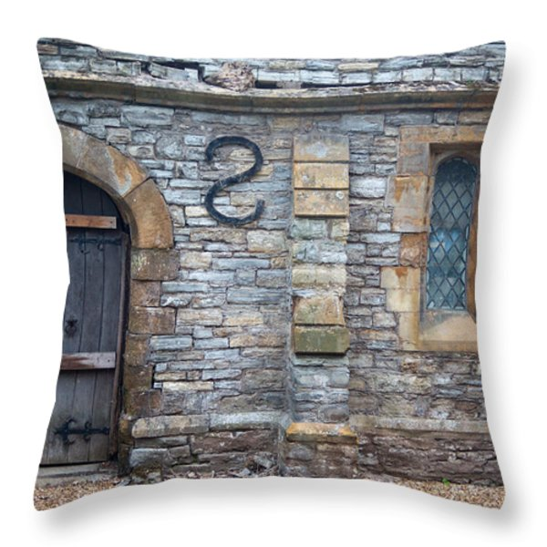Church Of The Holy Trinity Stratford Upon Avon 5 Throw Pillow by Douglas Barnett