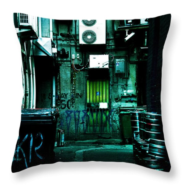 Clandestine Throw Pillow by Andrew Paranavitana